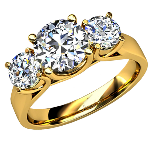 Ladies Solitaire Ring -003