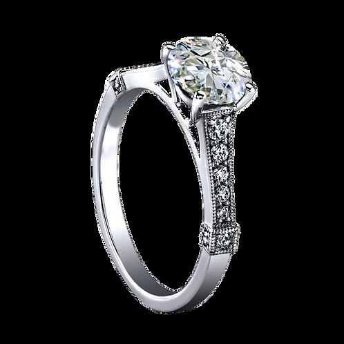 Ladies Solitaire Ring - 016