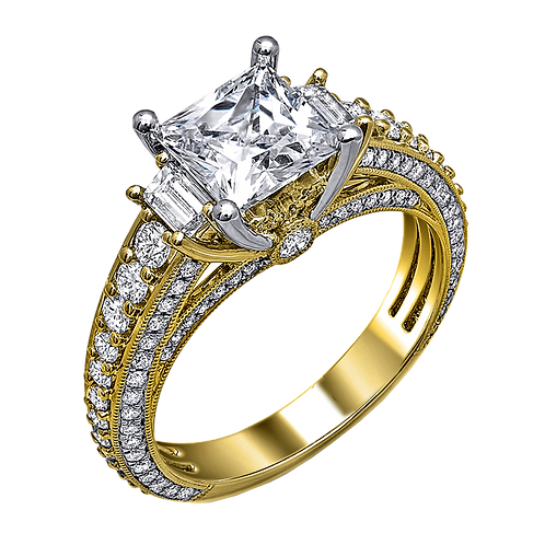 Diamond Solitaire Ring - 025
