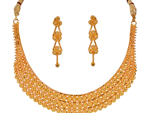 Gold Necklace 012