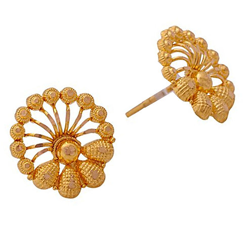 Gold Earring 040