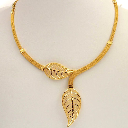Gold Necklace 019