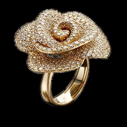 Ladies Flower Ring - 027