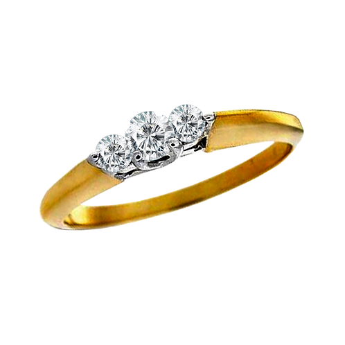 Ladies Solitaire Ring - 024