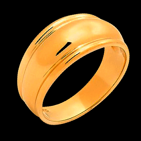 Gold Gents Ring - 004