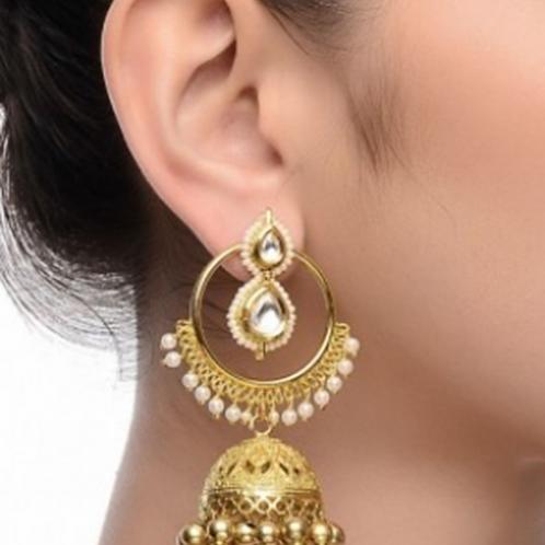 Gold Earring 011