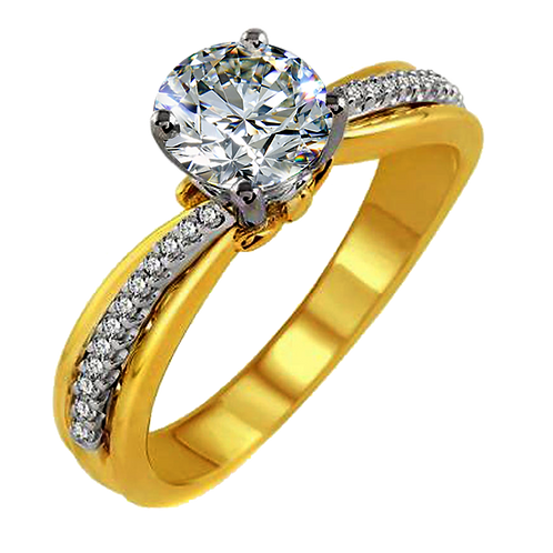 Ladies Solitaire Ring - 020