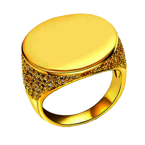 Gents Gold Ring - 028