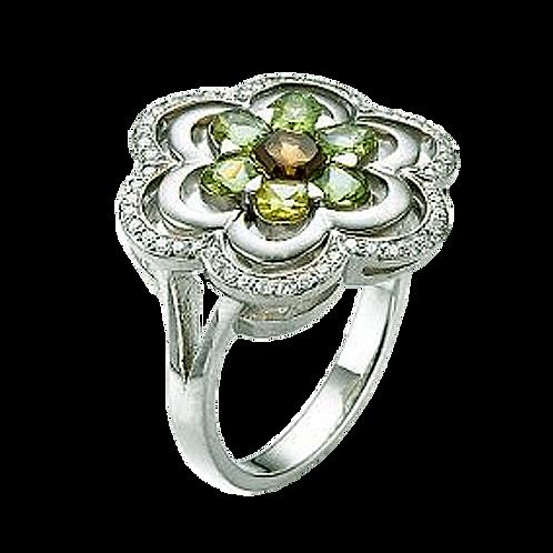 Ladies Flower Ring - 031