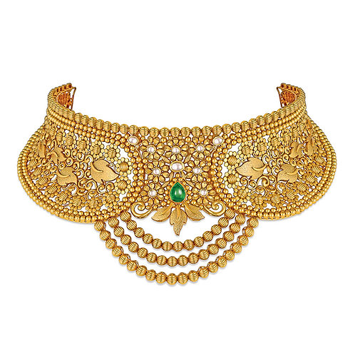 Gold Necklace 010