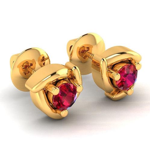 Gold Earring 024