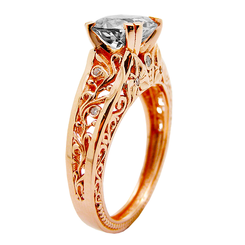 Ladies Solitaire Ring - 028