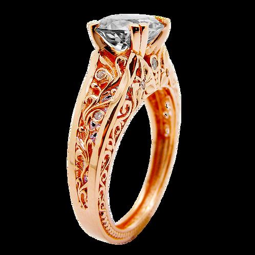Ladies Solitaire Ring - 028