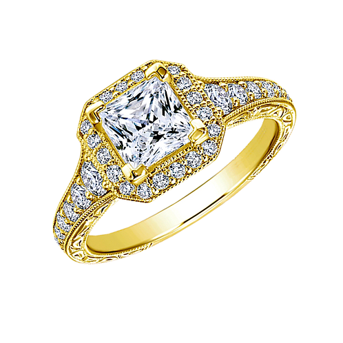Diamond Solitaire Ring - 013