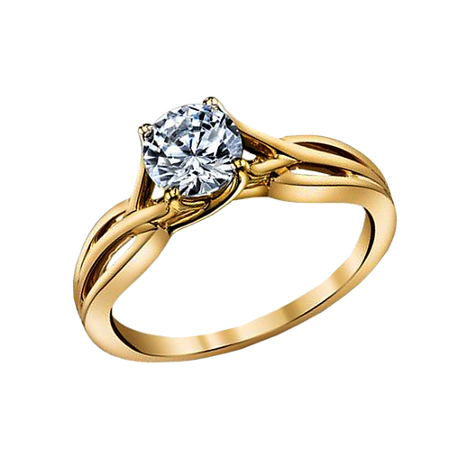 Diamond Solitaire Ring - 031