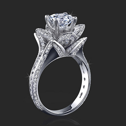 Ladies Flower Ring - 002