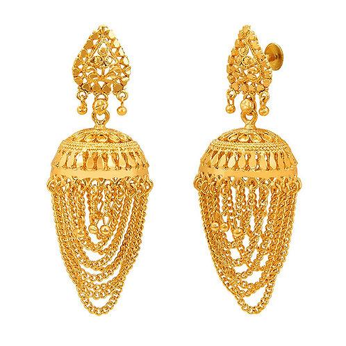 Gold Earring 006