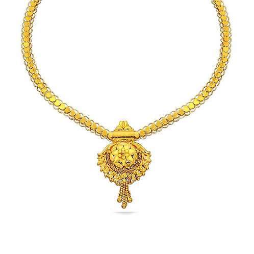 Gold Necklace 008
