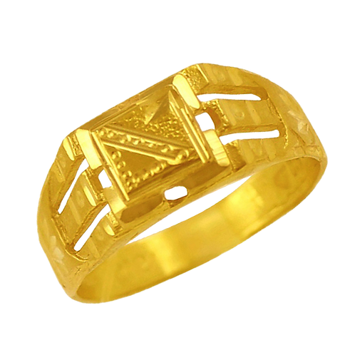Gents Gold Ring - 030