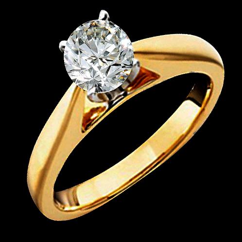 Ladies Solitaire Ring - 007