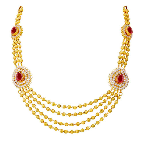 Gold Necklace 006