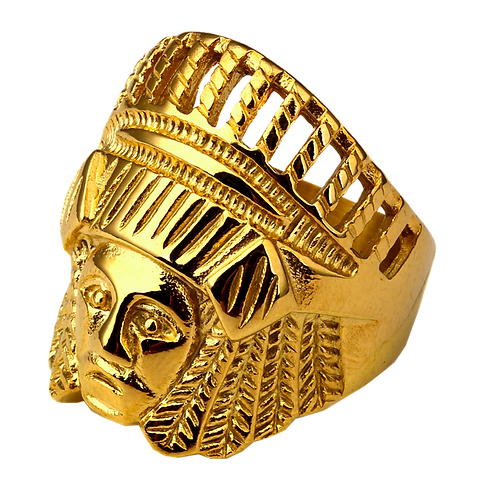 Gents Gold Ring - 029