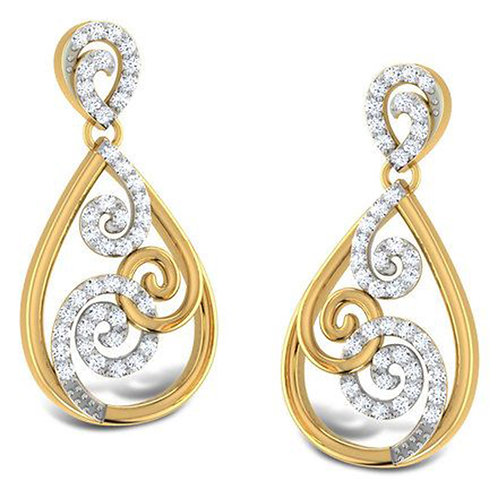 Diamond Earring 003