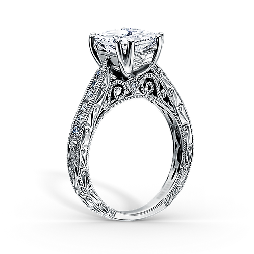 Ladies Solitaire Ring - 012