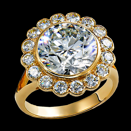 Ladies Solitaire Ring - 025