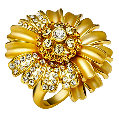 Ladies Flower Ring - 028