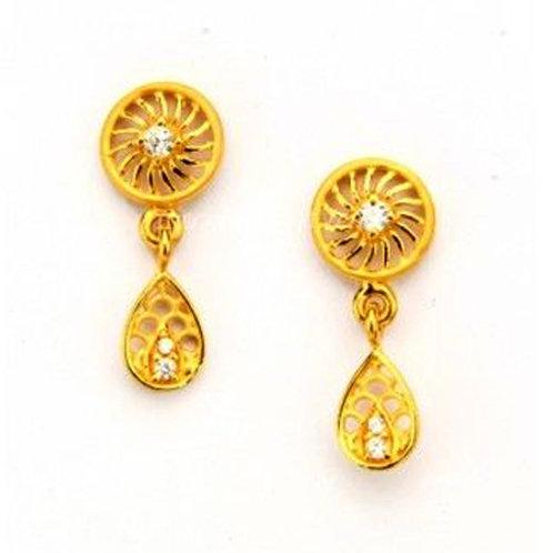 Gold Earring-023