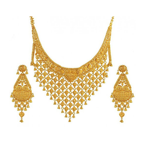 Gold Necklace 016