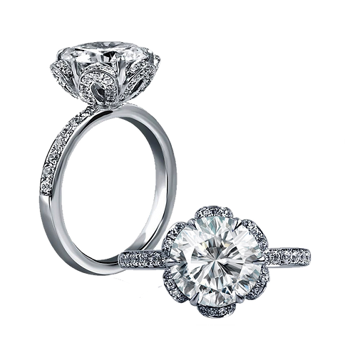 Ladies Solitaire Ring - 004