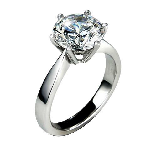Ladies Solitaire Ring - 027