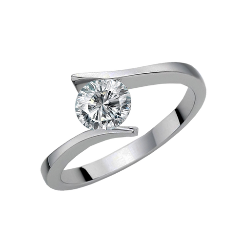 Ladies Solitaire Ring - 023