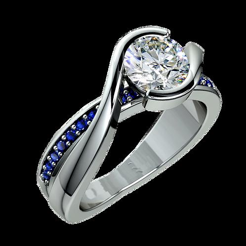 Diamond Solitaire Ring - 029
