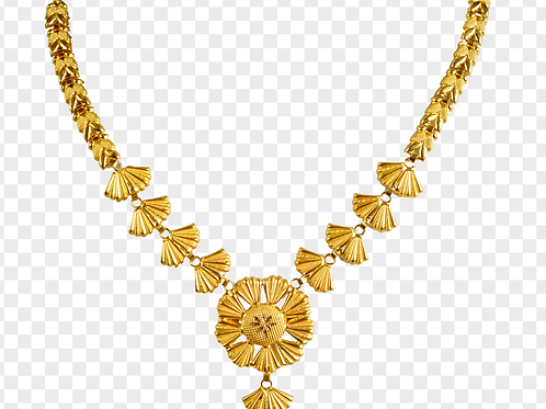 Gold Necklace 015