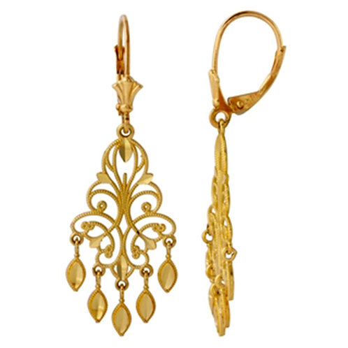 Gold Earring 035