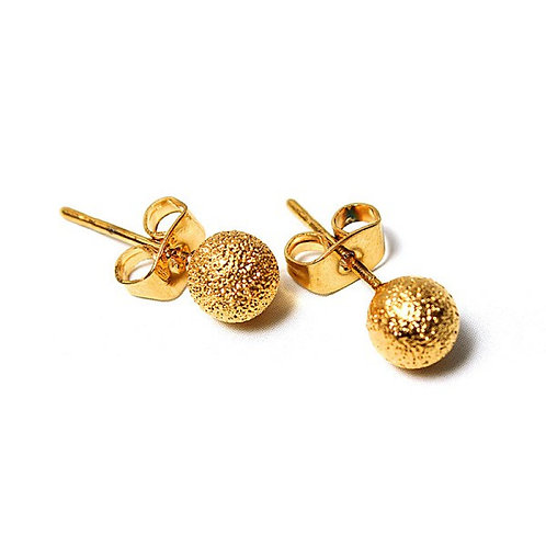 Gold Pearl Earring-022