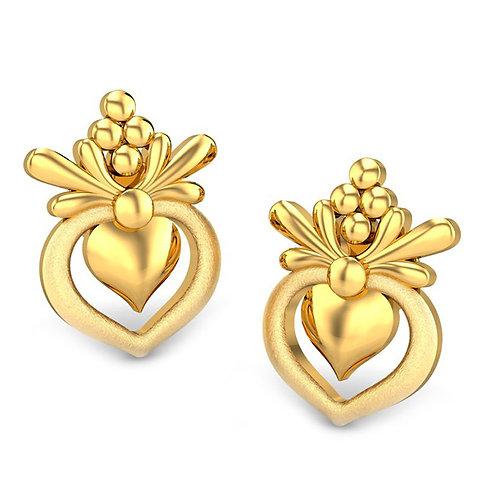 Gold Earring 025