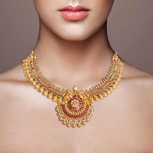 Gold Necklace 027