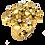 Thumbnail: Ladies Flower Ring - 029