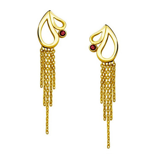Gold Earring 022