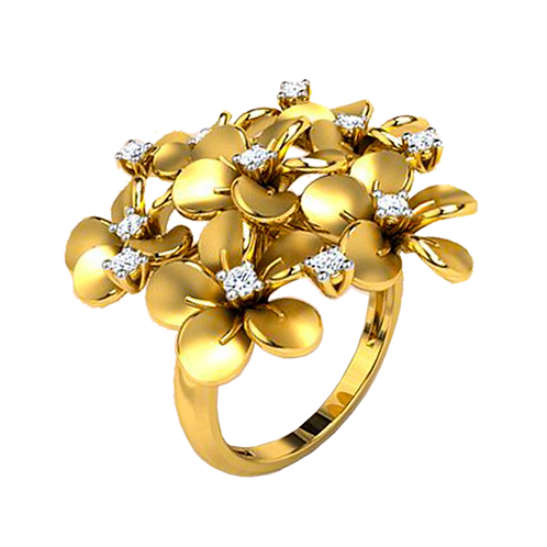 Ladies Flower Ring - 029