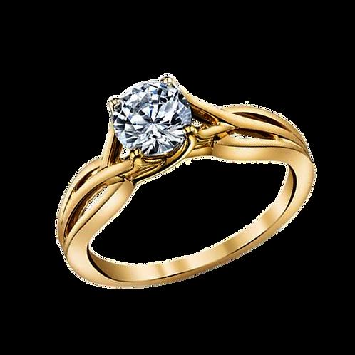 Ladies Solitaire Ring - 022