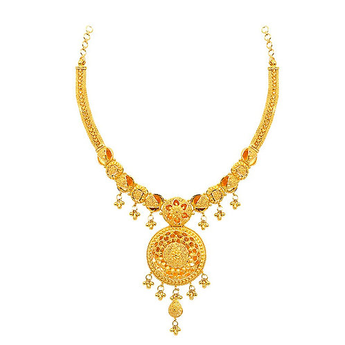 Gold Necklace 014
