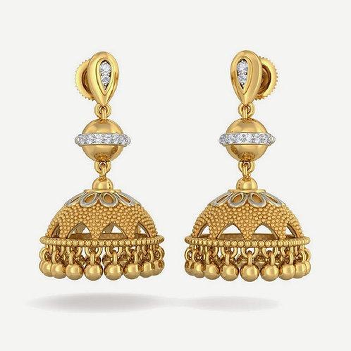 Gold Earring 039