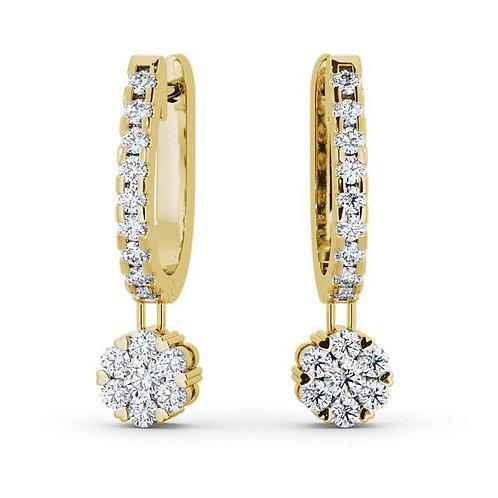 Diamond Earring 007