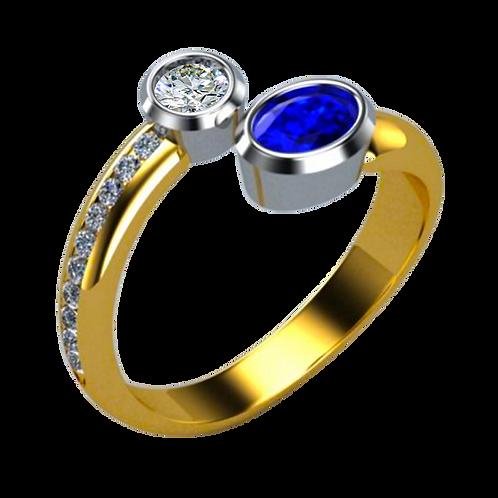 Ladies Solitaire Ring - 015