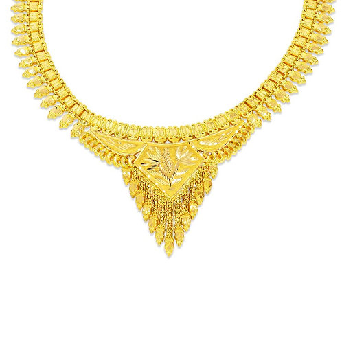 Gold Necklace 005